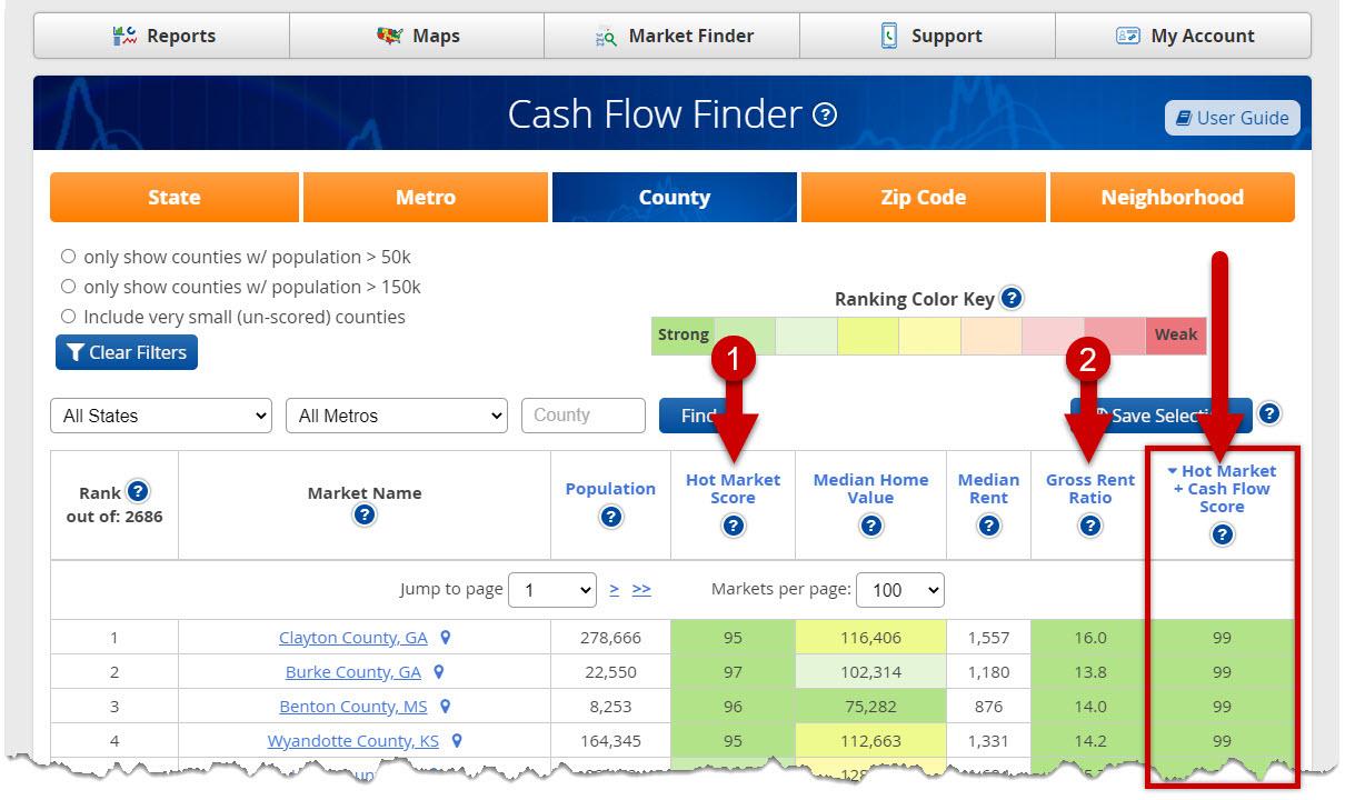 Cash Flow Finder - User Guide