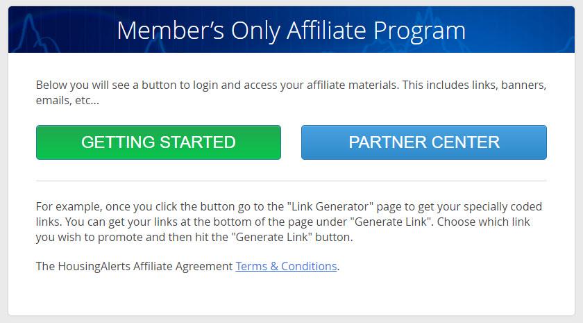 Affiliate Program - Where do I login?